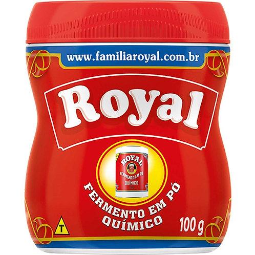 Fermento em Pó Royal 100g Químico