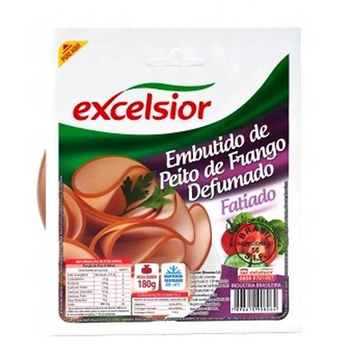 Peito de Frango Excelsior Fatiado - 200g (R$ 29,90/Kg)