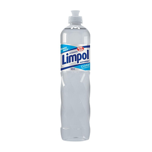 Detergente Líquido Limpol 500ml  Cristal