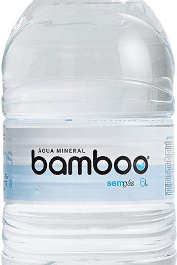 Água Mineral Bamboo 6L S/Gás