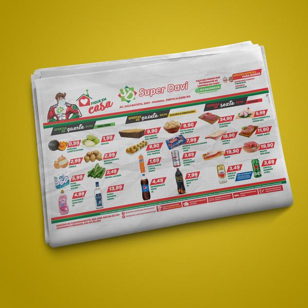 Super Davi - Anúncio Jornal