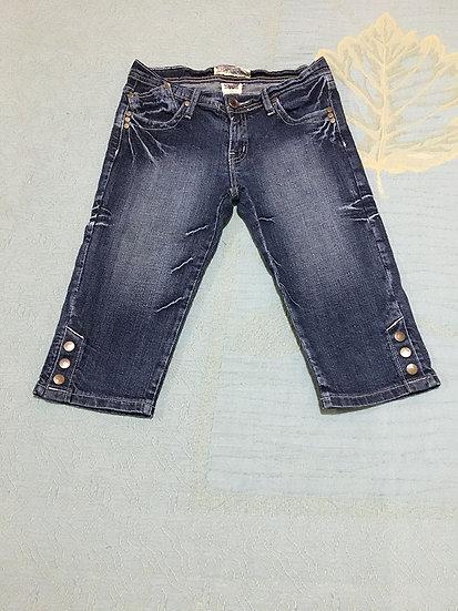 Calça Jeans Capri Infantil IMY - Tam 12
