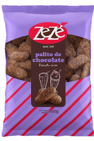 Biscoito Zezé 300g Palito Chocolate