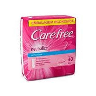 Protetor Carefree 40Un  Proteção C/Perfume
