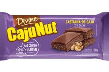 Chocolate Divine 90g  Castanha Caju