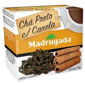 Chá Madrugada Preto com Canela 15g