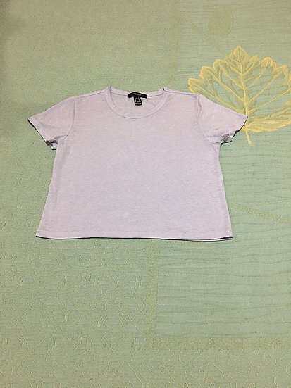 Blusa Cropped Forever 21