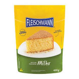 Mistura para Bolo Fleischmann 450g  Milho