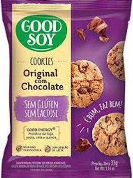 Cookies Good Soy 33g  Original Chocolate