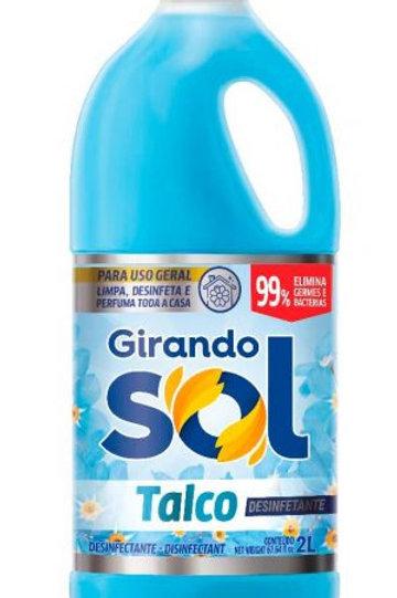 Desinfetante Girando Sol 2L  Talco