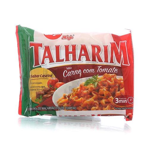 Macarrão Instantâneo Nissin Talharim 99g Carne Tomate