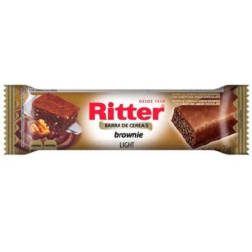 Barra Cereal Ritter 25g  Brownie Light