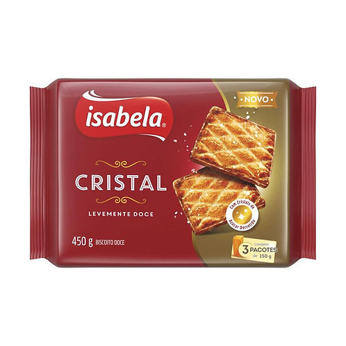 Biscoito Isabela Cristal 450g