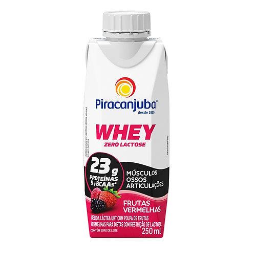 Whey Piracanjuba 250ml Frutas Verm