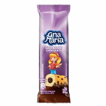 Bolo Ana Maria 45g  Gotas Chocolate