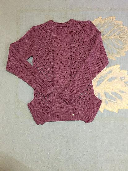 Blusão de Lã Lilás