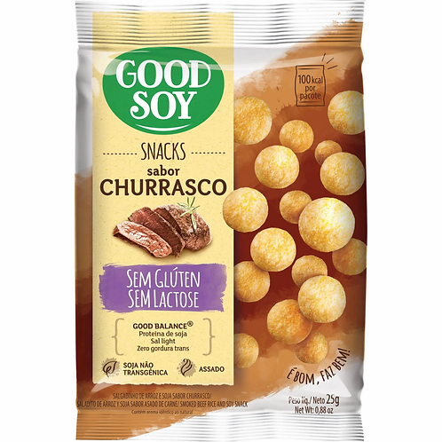 Snacks Good Soy 25g  Churrasco