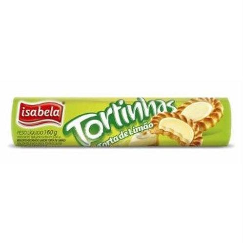 Biscoito Tortinhas Isabela 160g  Limão