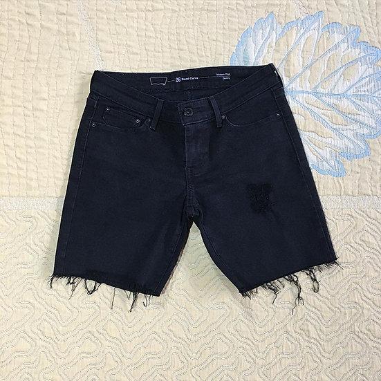 Bermuda jeans Levi's Demi Curve skinny destroyed