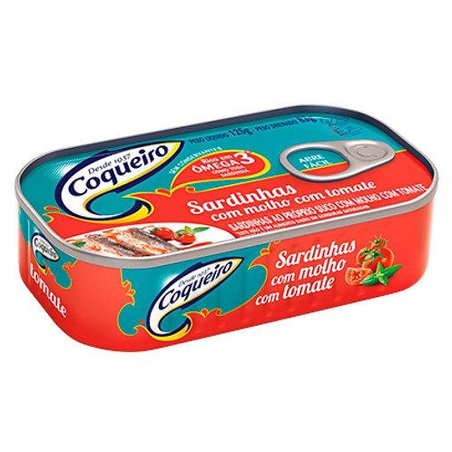 Sardinha Coqueiro 125g  Molho Tomate