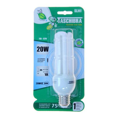 Lâmpada Taschibra 20W 3U  110V