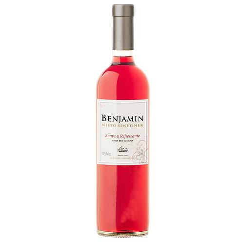 Vinho Benjamin Nieto Senetiner 750ml Rose Suave Refrescante