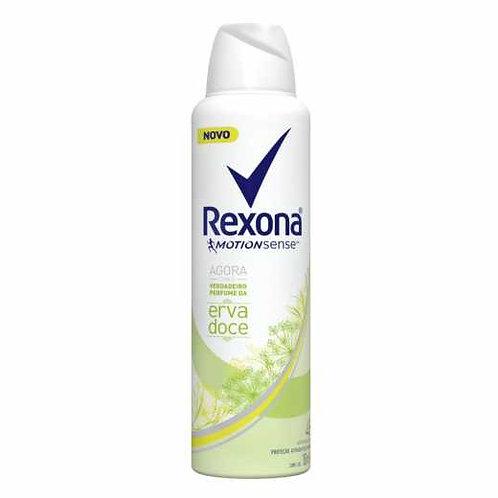 Desodorante Aerosol Rexona 150ml  Fem Erva Doce