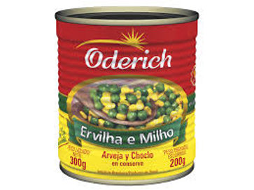 Ervilha e Milho Oderich 200g