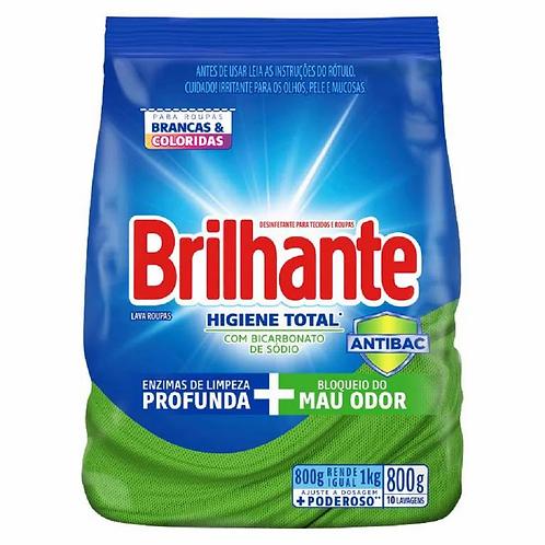 Sabão em Pó Brilhante 800g  Higiene Total