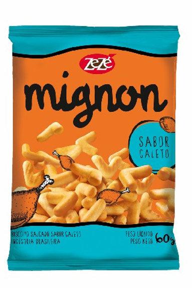 Biscoito Mignon Zezé 60g  Galeto