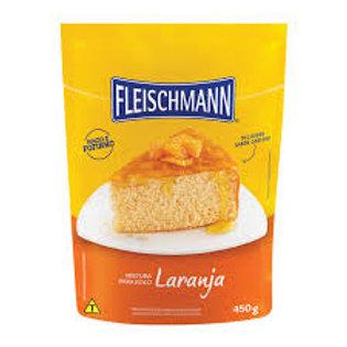 Mistura para Bolo Fleischmann 450g Laranja