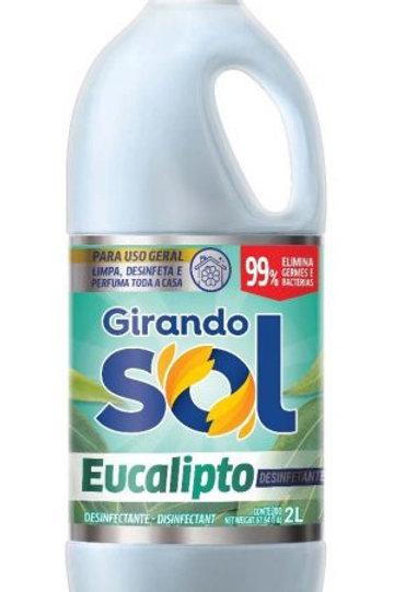 Desinfetante Girando Sol 2L  Eucalipt