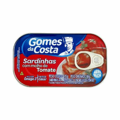 Filé Sardinha Gomes da Costa 85g  Oliva Tomate