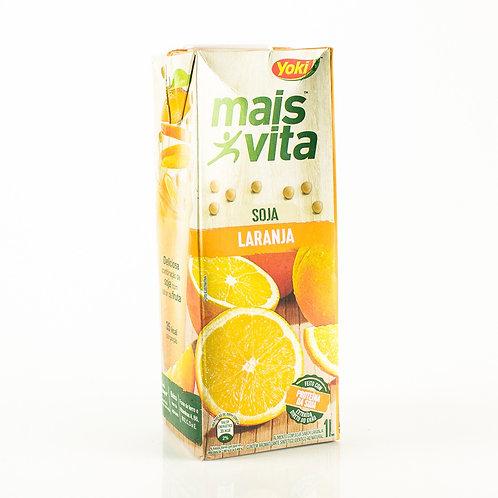 Alimento Soja Mais Vita 1L  Laranja