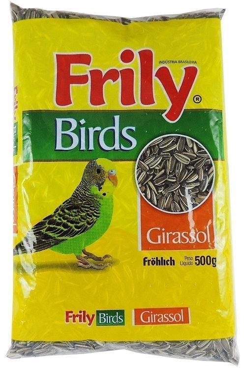 Ração Aves Frily 500g Girassol