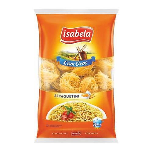 Massa Isabela 500g Espaguetini