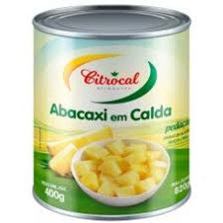 Abacaxi Calda Citrocal 400g Pedaço