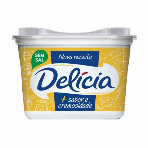 Margarina Delicia 500g S/Sal Extra Cremosa
