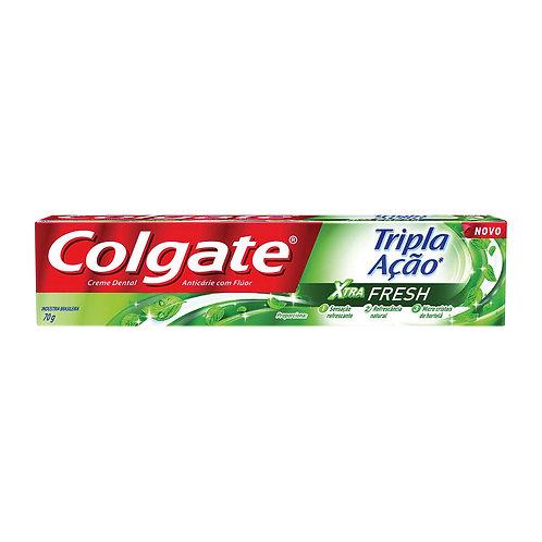 Creme Dental Colgate Tripla Xtra 70g  Fresh