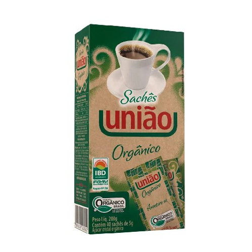 Açúcar União Sachê 200g Organico