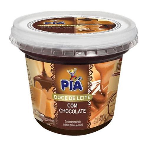 Doce de Leite Piá 400g  Chocolate