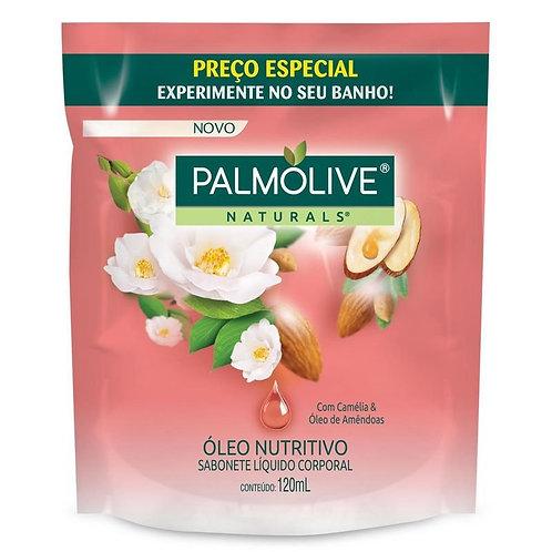 Sabonete Líquido Palmolive Naturals 120ml  Óleo Nutritivo