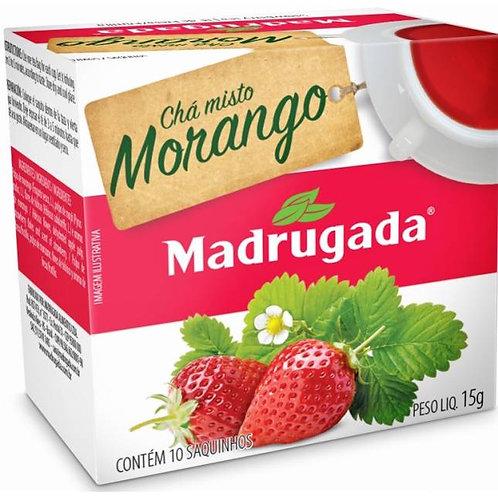 Chá Madrugada Misto Morango 15g