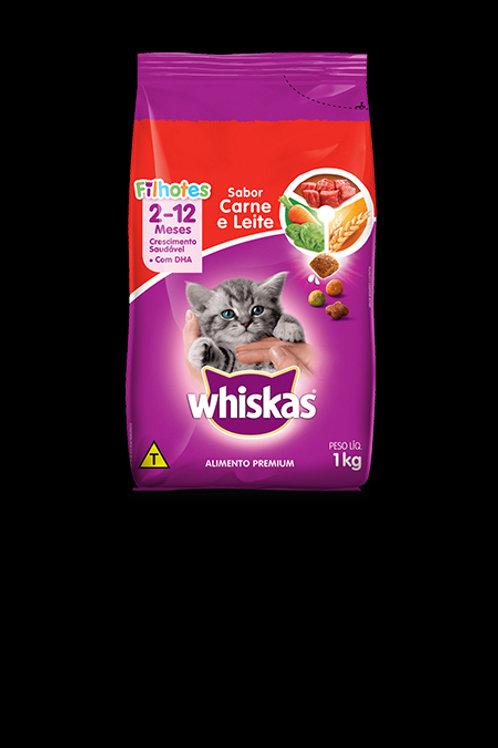 Ração Gatos Whiskas 1Kg  Filhotes