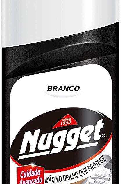 Cera Calçado Líquidouida Nugget 60ml  Branco