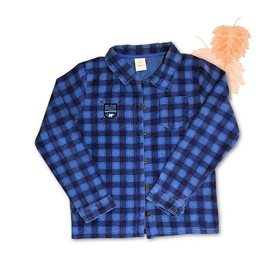 Camisa de Flanela Infantil Angero - Tam 12
