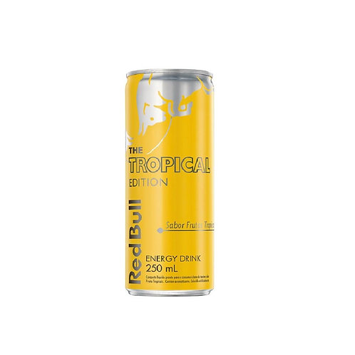 Energético Red Bull 250ml  Tropical