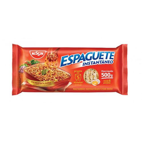 Espaguete Nissin 500g C/Ovo T5