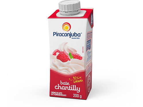 Chantilly Piracanjuba 200g