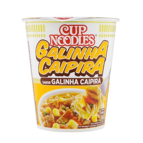 Cup Noodles  Galinha Caipira